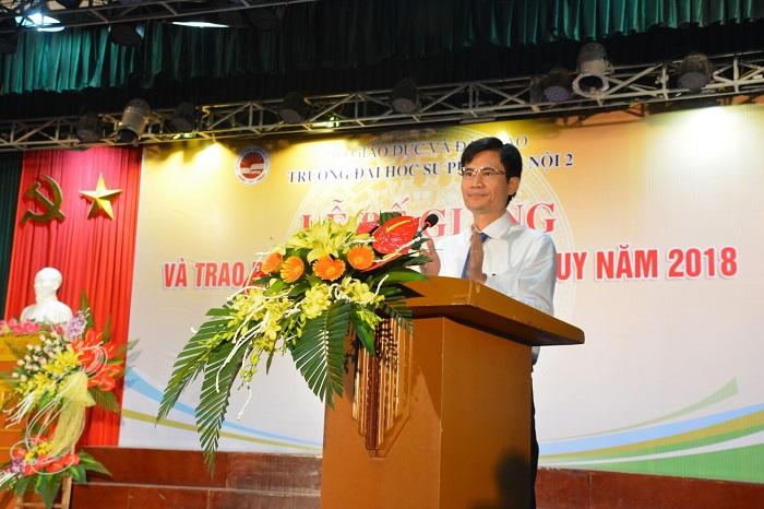 Lễ Bế giảng và trao bằng cử nhân hệ chính quy năm 2018